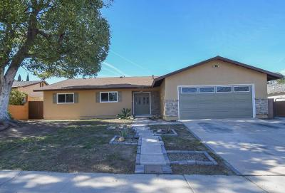 Simi Valley Single Family Home For Sale: 1649 Kirsten Avenue