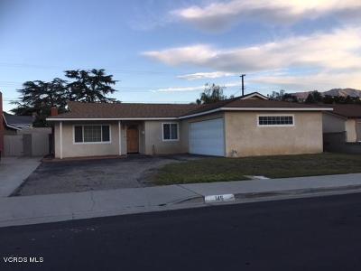 Santa Paula Single Family Home For Sale: 145 Mupu Street