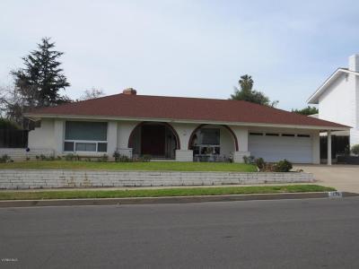 Camarillo Single Family Home For Sale: 1475 North Calle La Cumbre