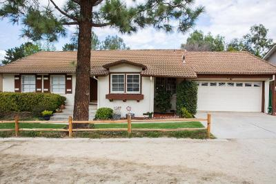 Simi Valley Single Family Home For Sale: 762 Tranquil Lane