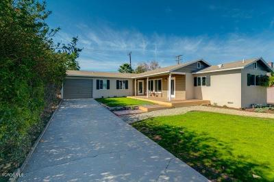 Camarillo Single Family Home For Sale: 131 Palm Drive