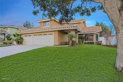 Camarillo Single Family Home For Sale: 1660 Via La Silva