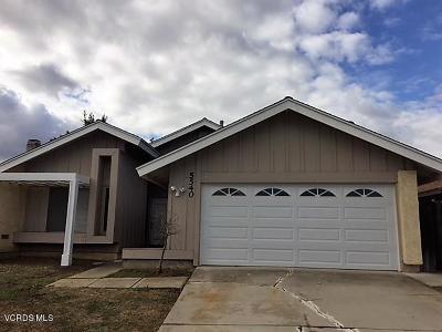 Camarillo Single Family Home For Sale: 5540 Winchester Way