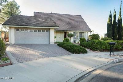 Thousand Oaks Single Family Home For Sale: 1596 Corte Del Rey