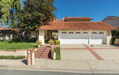 Westlake Village Single Family Home For Sale: 940 Ranch House Road