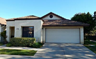 Camarillo Single Family Home For Sale: 136 La Veta Drive