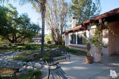 Moorpark Single Family Home For Sale: 7340 Walnut Canyon Road