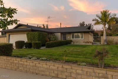 Camarillo Single Family Home For Sale: 2743 McCulloch Street