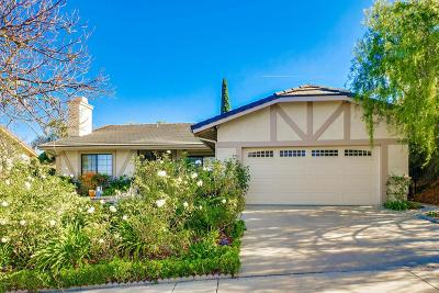 Thousand Oaks Single Family Home For Sale: 3640 Sunset Knolls Drive