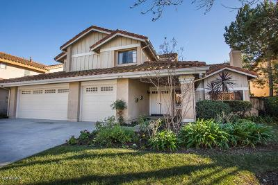Moorpark Single Family Home For Sale: 12536 Westmont Drive