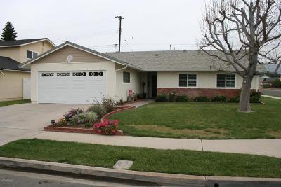 Camarillo Single Family Home For Sale: 1713 Munson Street