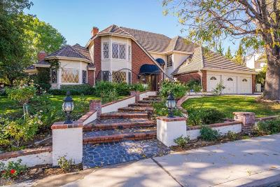 Agoura Hills Single Family Home Sold: 5831 Grey Rock Road