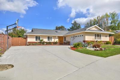 Thousand Oaks Single Family Home For Sale: 139 Tennyson Street