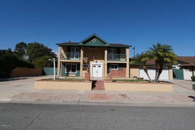 Thousand Oaks Single Family Home For Sale: 313 Triangle Street