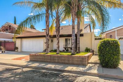 Simi Valley CA Single Family Home For Sale: $674,000