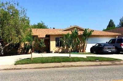 Simi Valley Single Family Home For Sale: 1621 Patricia Avenue