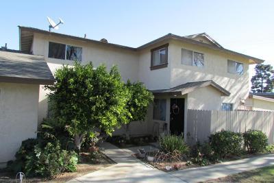 Oxnard CA Condo/Townhouse For Sale: $235,000