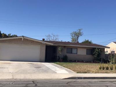 Santa Paula Single Family Home For Sale: 320 Lucada Street