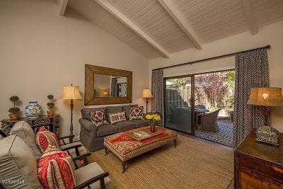 Ojai Condo/Townhouse For Sale: 410 Church Road #53