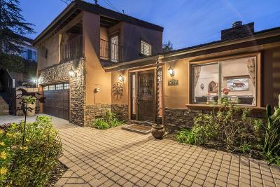 Agoura Hills Single Family Home For Sale: 5734 Fairview Place