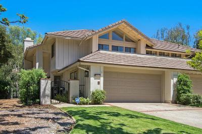 Westlake Village Condo/Townhouse For Sale: 4193 Dan Wood Drive