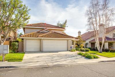 Moorpark Single Family Home For Sale: 12318 Willow Hill Drive