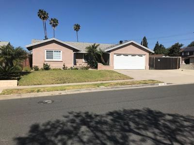 Camarillo Single Family Home For Sale: 1989 Kendall Avenue