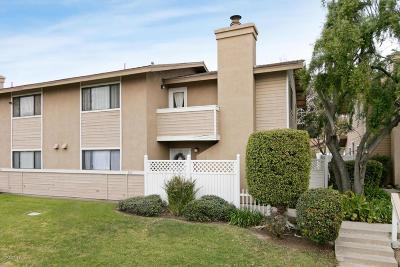 Santa Paula Condo/Townhouse For Sale: 107 North Steckel Drive