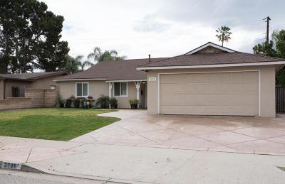 Camarillo Single Family Home For Sale: 3236 Milligan Drive