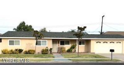 Moorpark Single Family Home For Sale: 290 Sierra Avenue