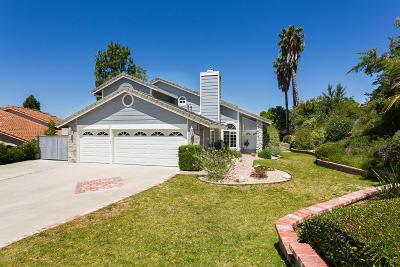 Thousand Oaks Single Family Home For Sale: 2875 Queens Way