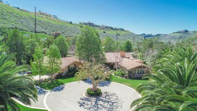 Camarillo Single Family Home For Sale: 13068 Lexington Hills Drive