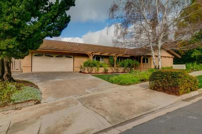 Thousand Oaks Single Family Home For Sale: 1215 Roselawn Avenue