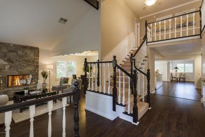 Agoura Hills Single Family Home For Sale: 27821 Via Amistosa