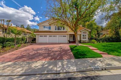 Westlake Village Single Family Home For Sale: 2504 Three Springs Drive