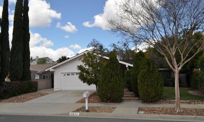 Simi Valley CA Single Family Home For Sale: $540,000