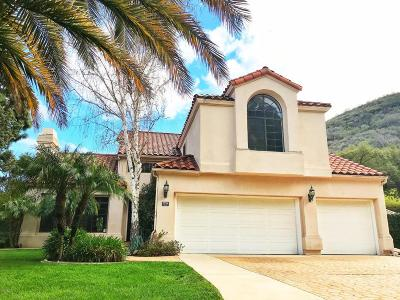 Westlake Village Single Family Home For Sale: 5558 Spring Hill Court