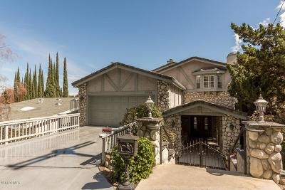 Woodland Hills Single Family Home For Sale: 5264 Campo Road
