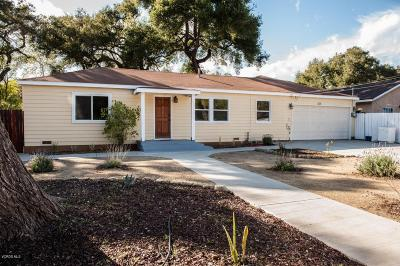 Ojai Single Family Home For Sale: 215 North Poli Street