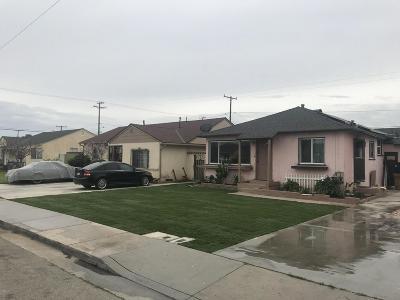 Oxnard Single Family Home For Sale: 424 West Elm Street