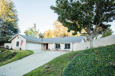 Thousand Oaks Single Family Home For Sale: 1836 North Marian Avenue