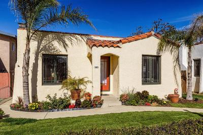 Ventura Single Family Home For Sale: 505 South Catalina Street