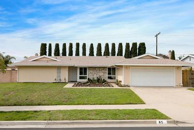 Ventura Single Family Home For Sale: 85 Imperial Avenue