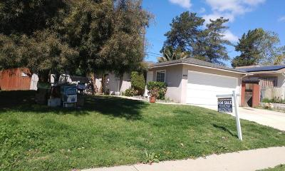 Ventura Single Family Home For Sale: 5077 Norway Drive