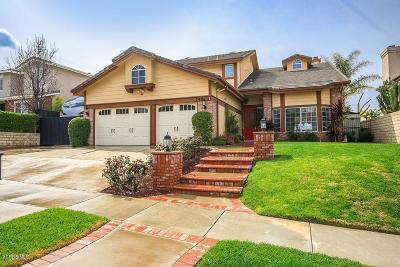 Simi Valley Single Family Home For Sale: 749 Cinnabar Place