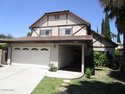 Los Angeles County Single Family Home For Sale: 18533 Lanark Street