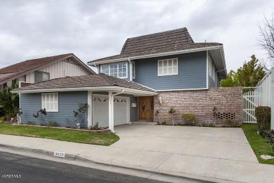 Westlake Village Single Family Home For Sale: 4035 Mariner Circle