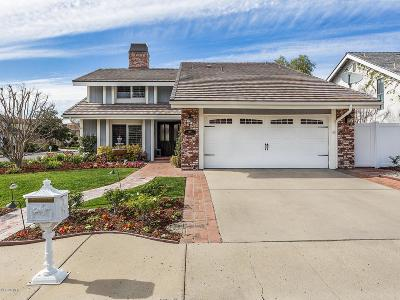 Westlake Village Single Family Home For Sale: 1419 Southwind Circle