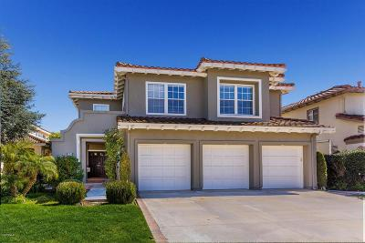 Simi Valley Single Family Home For Sale: 534 Hawks Bill Place