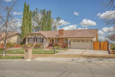 Simi Valley Single Family Home For Sale: 1159 Mellow Lane